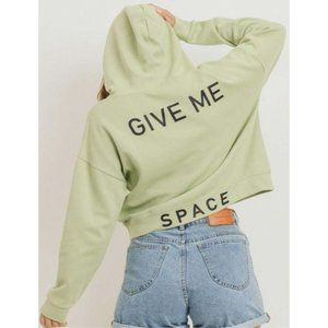 NWT - 'Give Me Space' Social Distance Hoodie